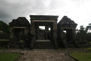 Gate of Ratu Boko complex