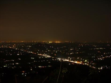 Bukit Bintang di malam hari