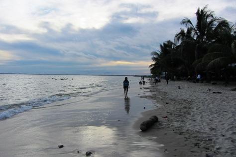 Pantai Kemala milik Polri