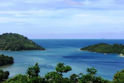 Pemandangan Pulau Rubiah dari Pulau Weh