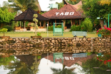 Tabo hotel on the lake side of Lake Toba, one of recommended hotel in Samosir Island