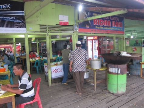 Kari kambingAceh  Ridha Ilahi di Simpang Surabaya Banda Aceh
