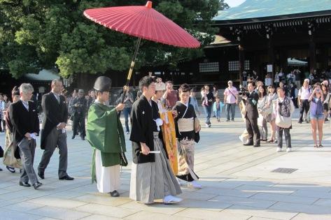 Acara mantenan di Meiji-jingu