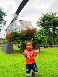 Di Museum Satria Mandala Jakarta