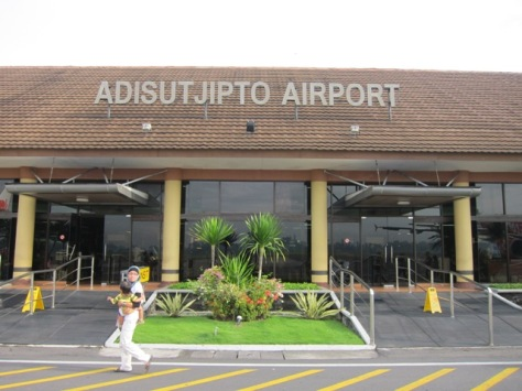 Welcome to Adisutjipto International Airport, Yogyakarta