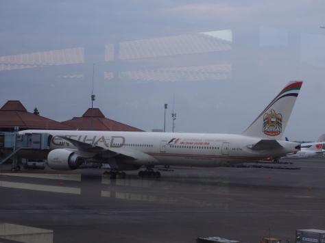 Salah satu maskapai asing di Bandara Soekarno-Hatta