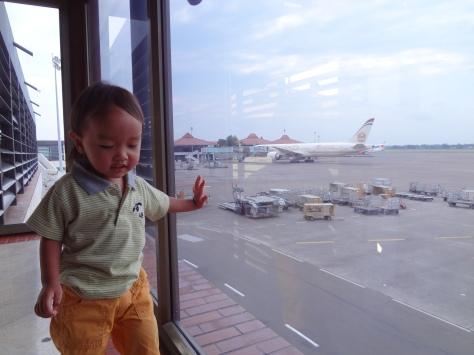 Sebutir pengguna bandara