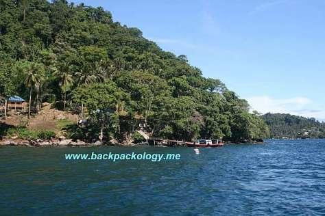 Selat Lembeh, terkenal sebagai lokasi muck diving yang sangat menarik