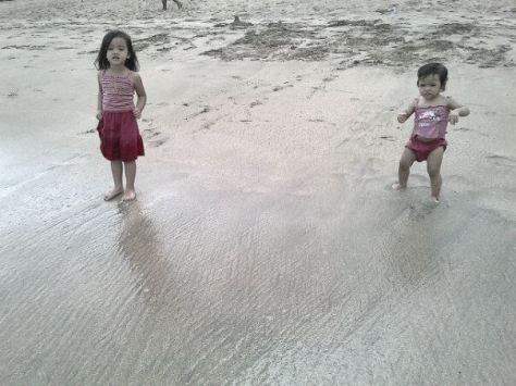 Raissan dan Fiamma, si anak-anak pantai