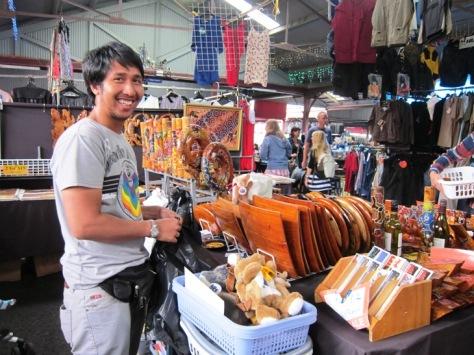 Salah satu pedagang ekspatriat asal Bantul