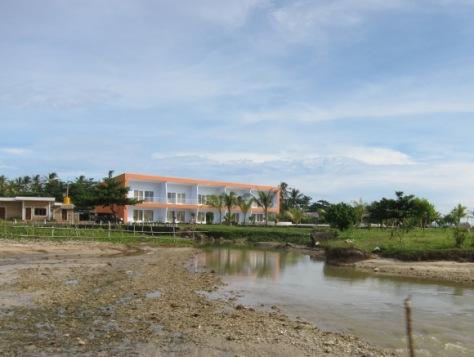 Turtle Beach Hotel dari pantai