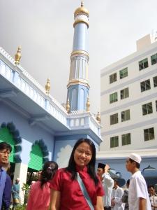 Setelah shalat Id di Masjid Dong Du, Saigon