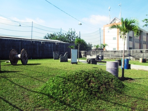 arena bermain paintball di Spartan Paintball Zone. Cukup bersih kan?