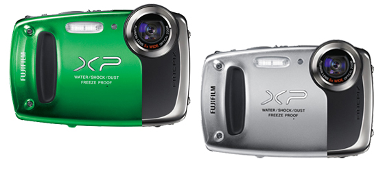 Fujifilm Finepix XP50, waterproof / shockproof / dustproof pocket camera