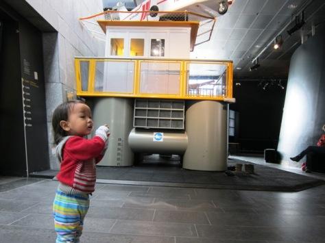 Kids corner di Norwegian Petroleum Museum