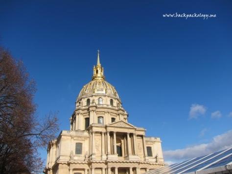 Bangunan utama Les Invalides