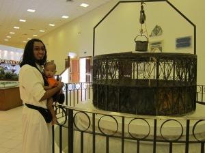 Oliq dan Puput di Museum Makkah