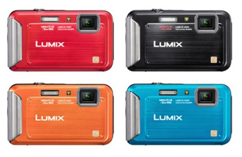 Panasonic Lumix DMC-FT20, waterproof / shockproof / dustproof pocket camera