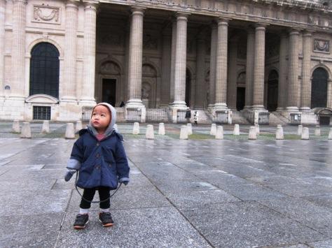 """""""Traveler ndeso"""" di Paris"""