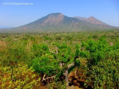 Pemandangan spektakuler dari gardu pandang pesanggrahan Bekol TN Baluran