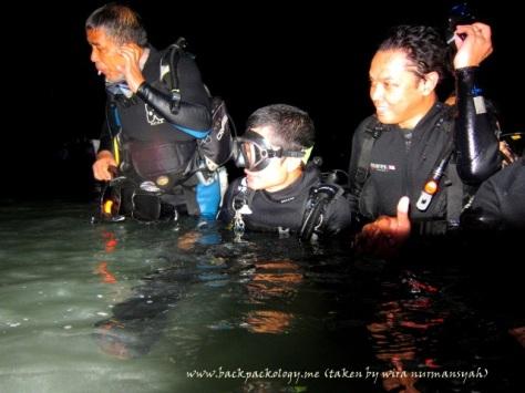 Sahabat Petualang peserta Discover Scuba Diving (foto diambil oleh Wira Nurmansyah)