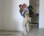 Dua backpackers pulang kandang