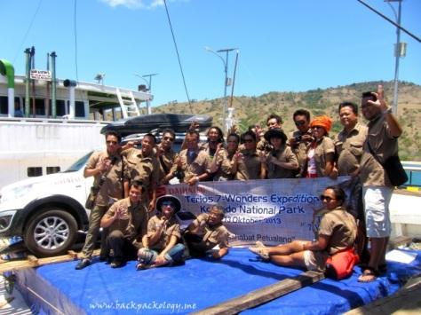 Semua tim yang terlibat Ekspedisi Terios 7 Wonders