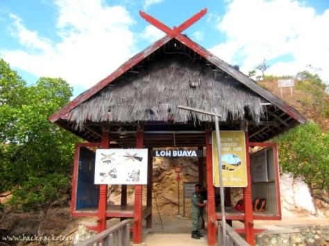 Gerbang Loh Liang di Pulau Rinca