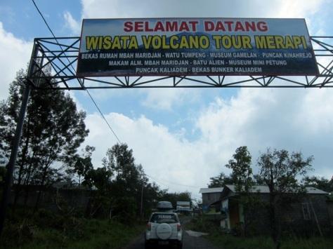 Wisata Desa Kinahrejo pasca Erupsi Merapi 2010
