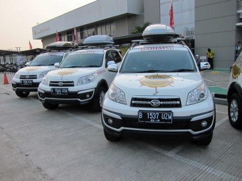 Jejeran 7 New Daihatsu Terios siap mengarungi 7 keajaiban Indonesia yang tersembunyi