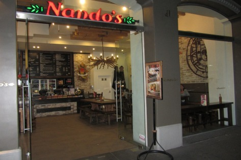 We love Nando's!!!