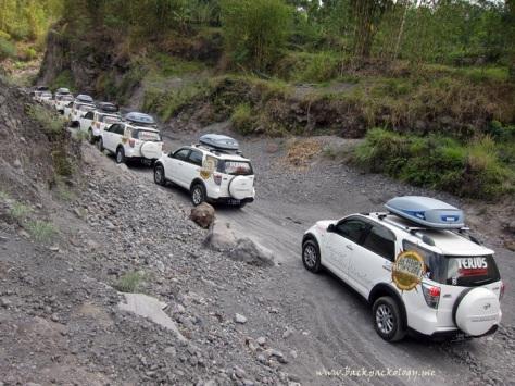 Ketangguhan Terios terbukti di jalur lava tour Merapi di Desa Kinahrejo