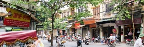 Salah satu sudut Old Quarter Hanoi