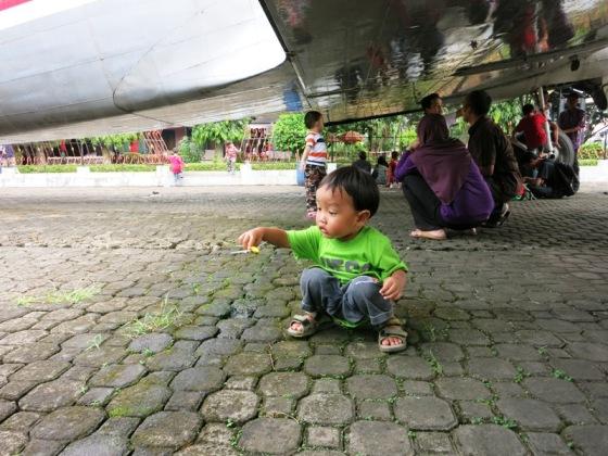 Piknik di bawah wawa Seulawah