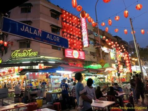 Jalan Alor, pusat wisata kuliner jalanan paling happening di seantero KL