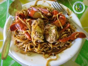 Mie kepiting Aceh bikin lidah bergoyang