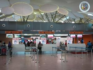 Konter check-in klia2, yang AirAsia selalu uyuk2an