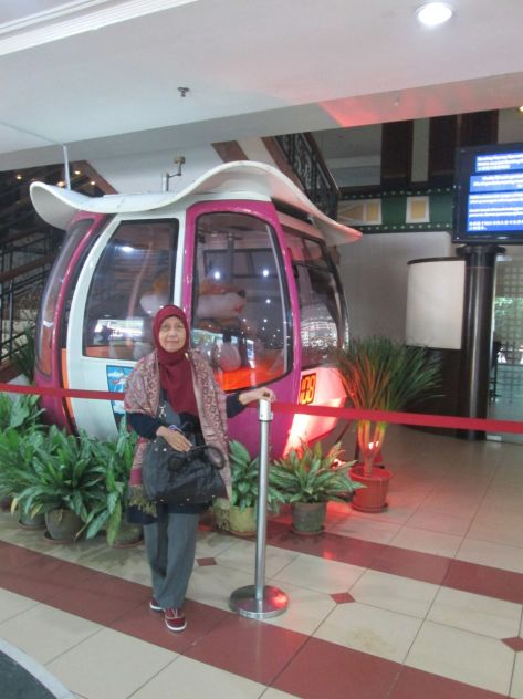 Uti bersama skyway Genting Highlands