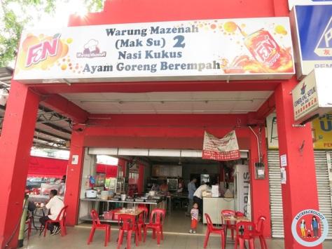 Warung Mak Su, salah satu tempat fav sarapan di Kuantan