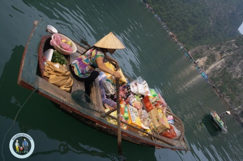 perahu halong