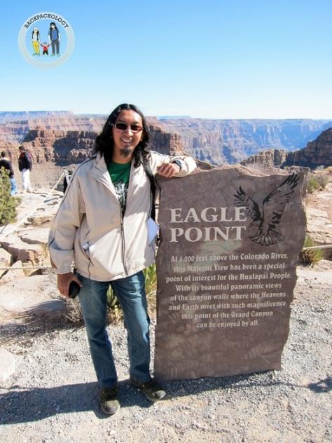 Alhamdulillah, bisa menikmati Grand Canyon dari Eagle Point, salah satu impian saya sejak dulu kala