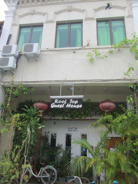 Roof Top Guest House, Melaka
