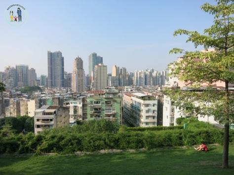 Pemandangan kota Makau