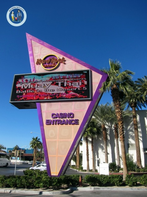 Las Vegas, kota judi yang identik dengan casino, tempat singgah utama menuju Grand Canyon West