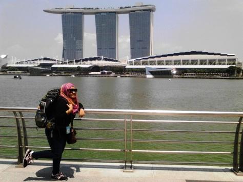 Foto sama Marina Bay Sands