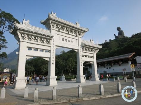 Ngong Ping di Lantau Island