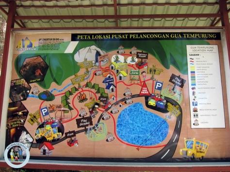 Aneka macam atraksi tersedia di Gua Tempurung, cocok sebagai destinasi wisata keluarga