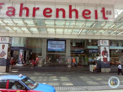 Salah satu pusat perbelanjaan terkemuka di Bukit Bintang, KL