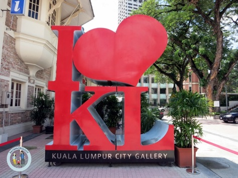 I Love KL logo, jangan lewatkan foto selfie di sini