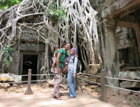 Ta Phrom, Angkor, Kamboja